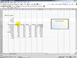 excel 2003 how to score well on an excel assessment test youtube
