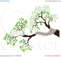 clipart tree with branches and leaves clipart panda free