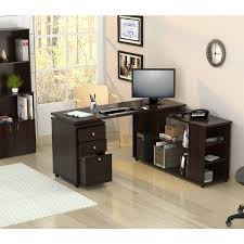 L Shaped Computer Desk Cheap Inval L Shaped Computer Workstation Desk Free Shipping Today