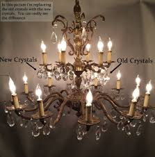 How To Clean Crystals On Chandelier Learn How To Restore Old Antique Brass Chandeliers Like The Pros