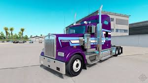 trucking companies with kenworth w900 skin icon style on the truck kenworth w900 for american truck