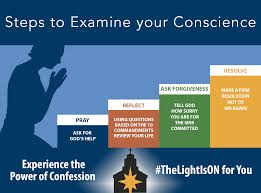 guide to confession the light is on