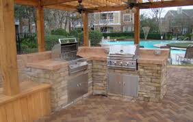 Outdoor Kitchen Granite Countertops Kitchen Stunning Outdoor Kitchen Granite Countertops Also Custom