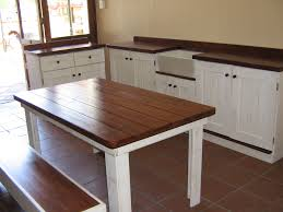cosy kitchen table bench seating within super big farmhouse dining