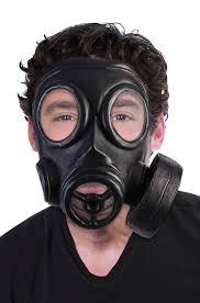 Gas Mask Halloween Costume Brand Gas Mask Halloween Costume Accessory Black Ebay