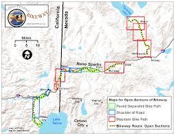 Sparks Nevada Map Home Tahoe Pyramid Bikeway