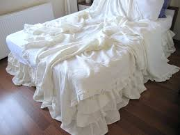 100 simply shabby chic linen cotton blend comforter set