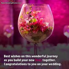 wedding wishes on wishes on this wonderful journey wedding greetings