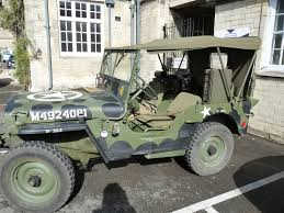 Our Jeep Outside A Museum To Help Out It U0027s Decked Out As A