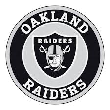 Football Area Rugs by Raiders Logo Roundel Mat 27
