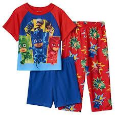 pj masks toddler boys 3 top pant pajama set size 4t
