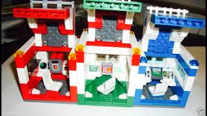 Lego Headquarters Lego Custom Travel Set Octan Gas Station Lego Racers Lego Police
