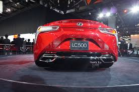 lexus lc 500 auto show 6 cars we u0027d like to take home from the 2016 detroit auto show