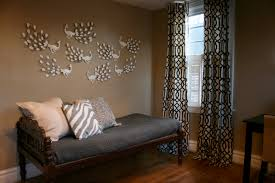 interior white ikea curtains in sweet motifs mixed with sweet