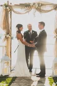 picture perfect wedding ceremony altar ideas burlap weddings