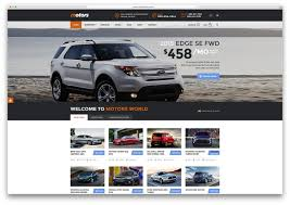 bmw magazine ads professional and responsive car dealer wordpress themes for