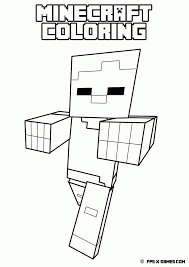 minecraft coloring pages pdf coloring