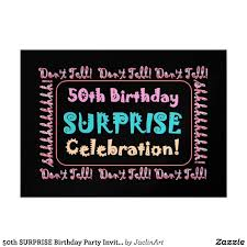 template free printable 50th birthday invitations for her with