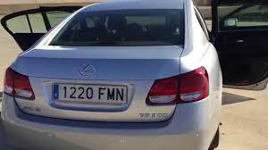 lexus gs 450h specs 2007 2007 lexus gs 300 luxury 3 0 v6 six speed auto lhd in spain youtube
