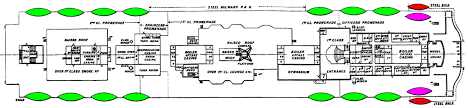 titanic floor plan lifeboats of the rms titanic wikiwand