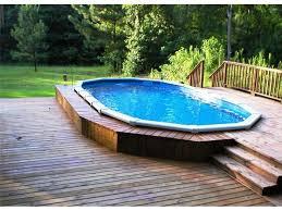 Small Backyard Above Ground Pool Ideas Backyard Pools By Design Fort Wayne Indiana