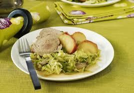 cuisiner du choux vert filet mignon chou vert et pommes au cidre maggi