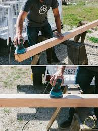 bench for your backyard hometalk