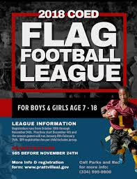 Coed Flag Football Youth Coed Flag Football Prattville Alabama Prattvilleal Gov