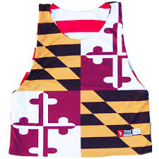 Maryland Flag Vinyl Maryland Flag Quads And American Flag From Tribe Lacrosse