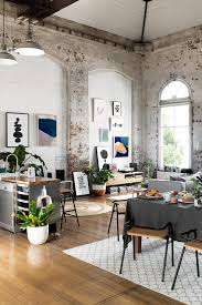 floor and decor warehouse gravity home warehouse apartment with exposed brick by hunting