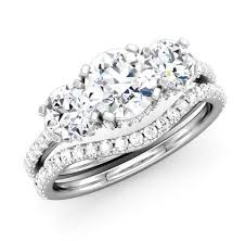 bridal ring company 58 best three rings images on three rings