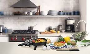 elite cuisine elite cuisine efs 400 maxi matic 7 inch non stick electric skillet