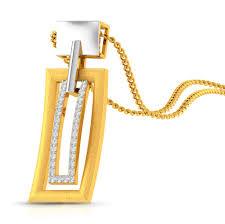 never overdone diamond gold pendant charu jewels