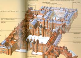 Palace Place Floor Plans Hampton Court Palace Map Simon And I Figured It Would Take Us A