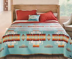 pendleton chief joseph bed blanket wool blanket bedding