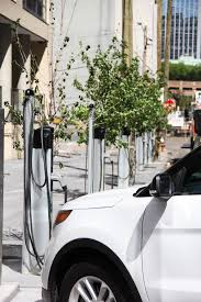 electric vehicles charging stations greenspot selects jersey city nj for curbside electric vehicle
