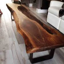 live edge walnut coffee table live edge black walnut coffee table bois design custom made
