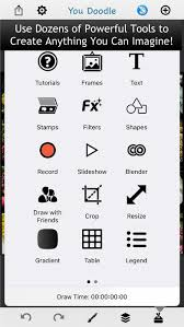 doodle draw app you doodle pro on the go on the app store