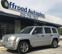 jeep patriot off road tires 2007 jeep patriot for sale in san antonio texas 78237