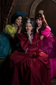 Cinderella Ugly Stepsisters Halloween Costumes Trio Sinister Learn