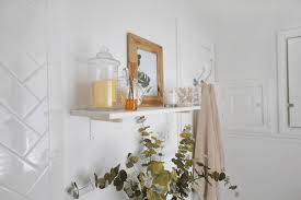 Wall Shelf Bathroom A New Bloom Diy And Craft Projects Home Interiors Style And