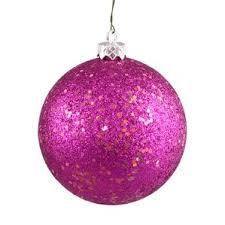 magenta ornaments wayfair