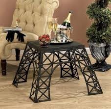 eiffel tower table city inspired tables eiffel tower table