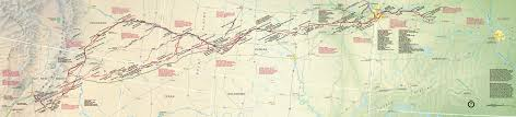 Santa Fe Map National Trails Maps Npmaps Com Just Free Maps Period