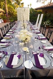 Purple Wedding Decorations Purple Wedding Ideas With Pretty Details Modwedding