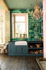 green glass tiles for kitchen backsplashes green tile kitchen backsplash ideas with white cabinets green