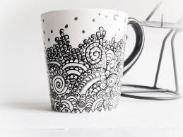 Coffee Mug Designs Cool Hand Painted Coffee Mugs 47 Hand Painted Coffee Mugs