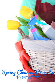 6 spring cleaning projects to remember this mama loves