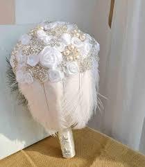 bridal bouquet cost white feather wedding bouquets silk flower wedding