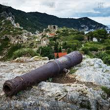 Rugged Landscape Greek Islands Stock Photos Offset